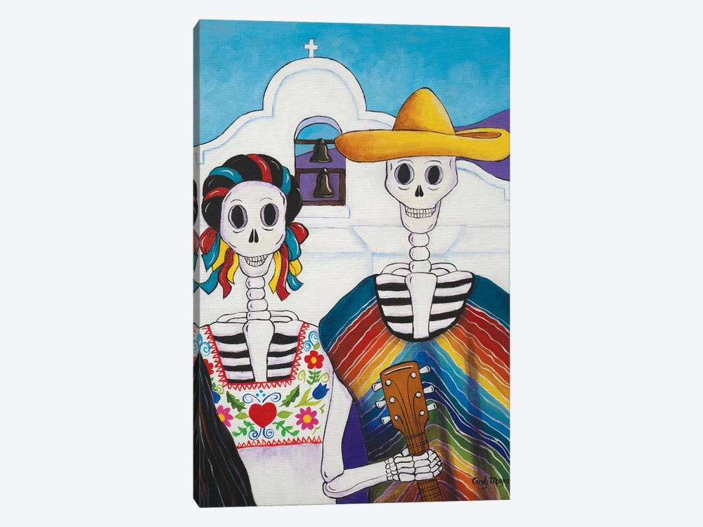 Mexican Gothic by Candy Mayer 1-piece Canvas Print