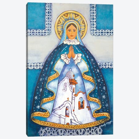 Mission Madonna Canvas Print #CMY39} by Candy Mayer Canvas Art