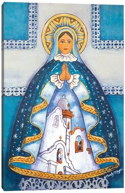 Mission Madonna Canvas Art Print