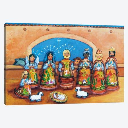 Nativity 3-Piece Canvas #CMY42} by Candy Mayer Art Print