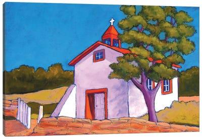 New Mexico Church Canvas Art Print