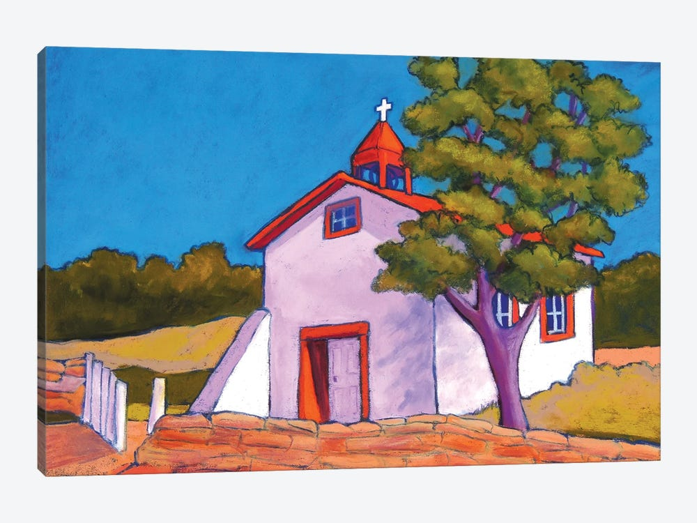 New Mexico Church by Candy Mayer 1-piece Canvas Wall Art