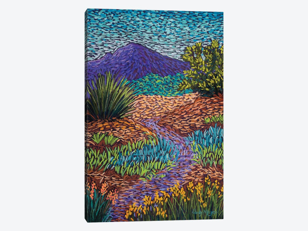Purple Mountain Path by Candy Mayer 1-piece Canvas Art