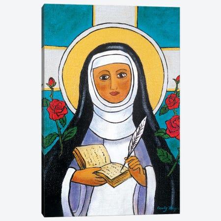 Saint Teresa Canvas Print #CMY55} by Candy Mayer Canvas Art Print