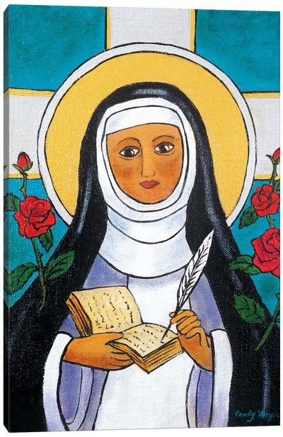 Saint Teresa Canvas Art Print