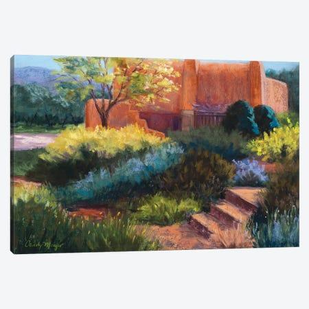 Springtime Adobe Canvas Print #CMY58} by Candy Mayer Canvas Artwork