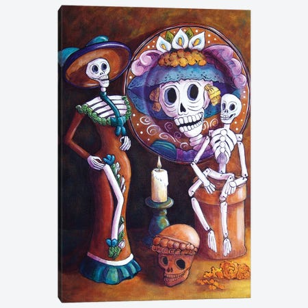 Catrina Group Canvas Print #CMY5} by Candy Mayer Canvas Art Print