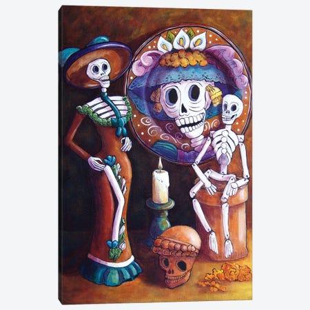 Catrina Group Canvas Print #CMY5} by Candy Mayer Canvas Art Print