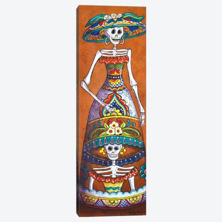 Talavera Catrina Canvas Print #CMY62} by Candy Mayer Canvas Art Print