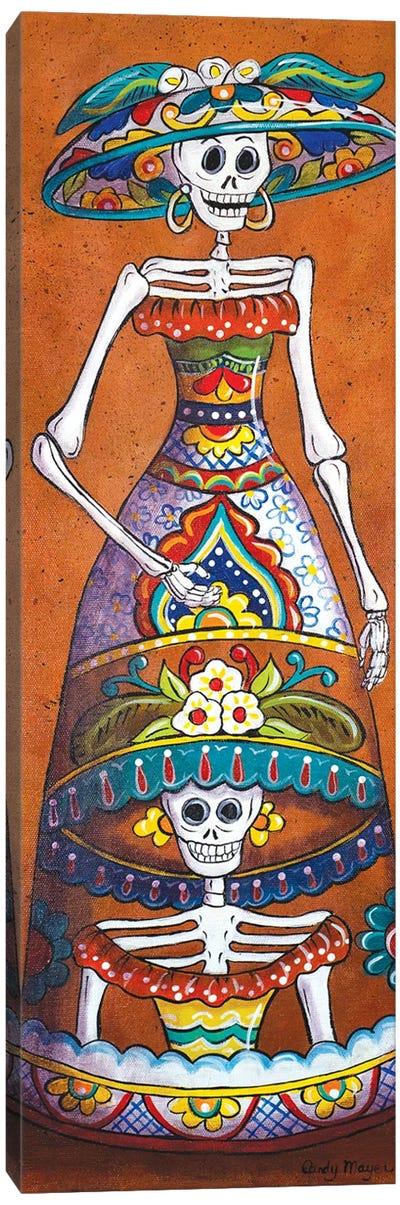 Talavera Catrina Canvas Art Print