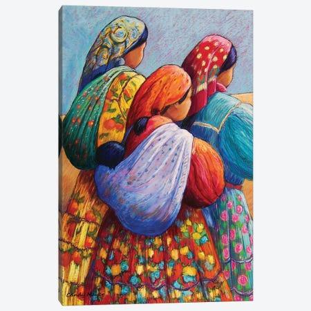 Tarahumara Women Canvas Print #CMY63} by Candy Mayer Canvas Art Print