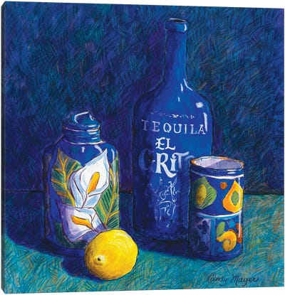 Tequila And Talavera Canvas Art Print