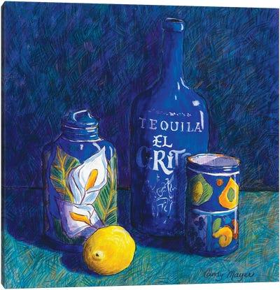 Tequila And Talavera Canvas Art Print
