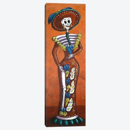 Terracotta Catrina Canvas Print #CMY65} by Candy Mayer Canvas Art