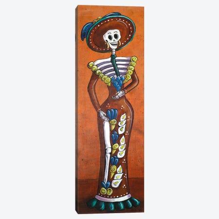 Terracotta Catrina Canvas Print #CMY65} by Candy Mayer Canvas Art