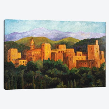 The Alhambra Canvas Print #CMY66} by Candy Mayer Canvas Art