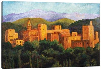 The Alhambra Canvas Art Print