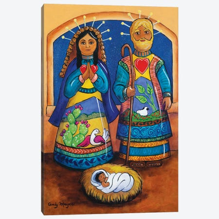 The Holy Family Canvas Print #CMY69} by Candy Mayer Canvas Print
