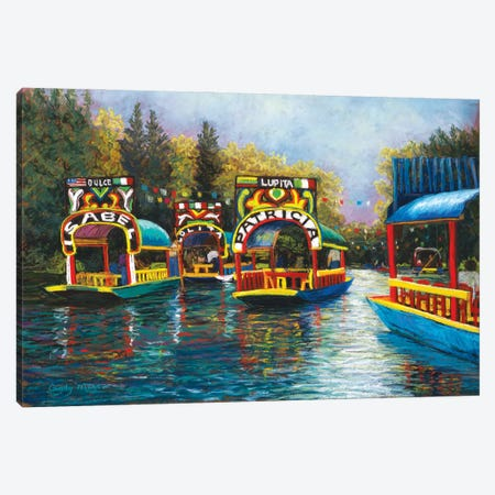Xochimilco, Mexico Canvas Print #CMY76} by Candy Mayer Canvas Print