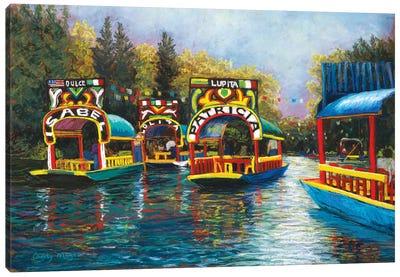 Xochimilco, Mexico Canvas Art Print