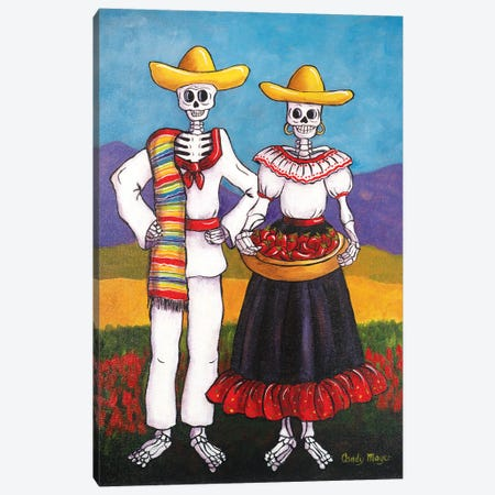 Chile Farmers Canvas Print #CMY8} by Candy Mayer Canvas Artwork