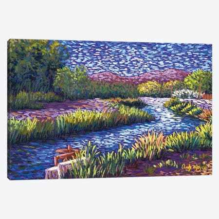 Valley Irrigation Canvas Print #CMY91} by Candy Mayer Canvas Art