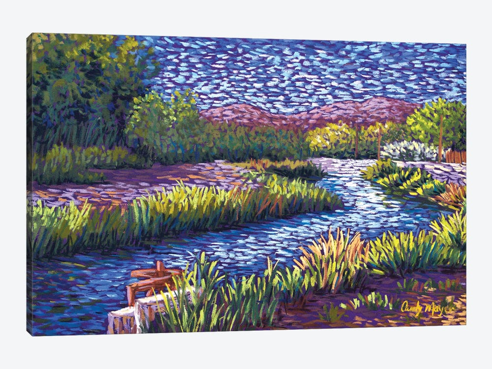 Valley Irrigation by Candy Mayer 1-piece Canvas Art Print