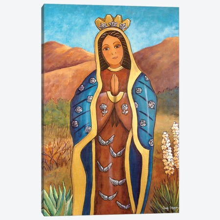 Guadalupe De Los Milagros Canvas Print #CMY98} by Candy Mayer Canvas Wall Art