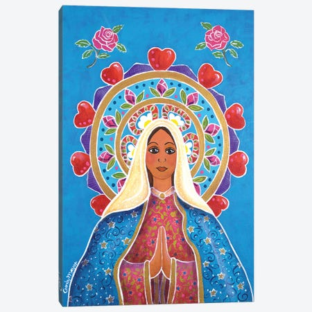 Guadalupe Mandala Canvas Print #CMY99} by Candy Mayer Canvas Art