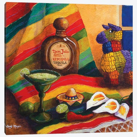 Cinco De Mayo Canvas Print #CMY9} by Candy Mayer Canvas Art