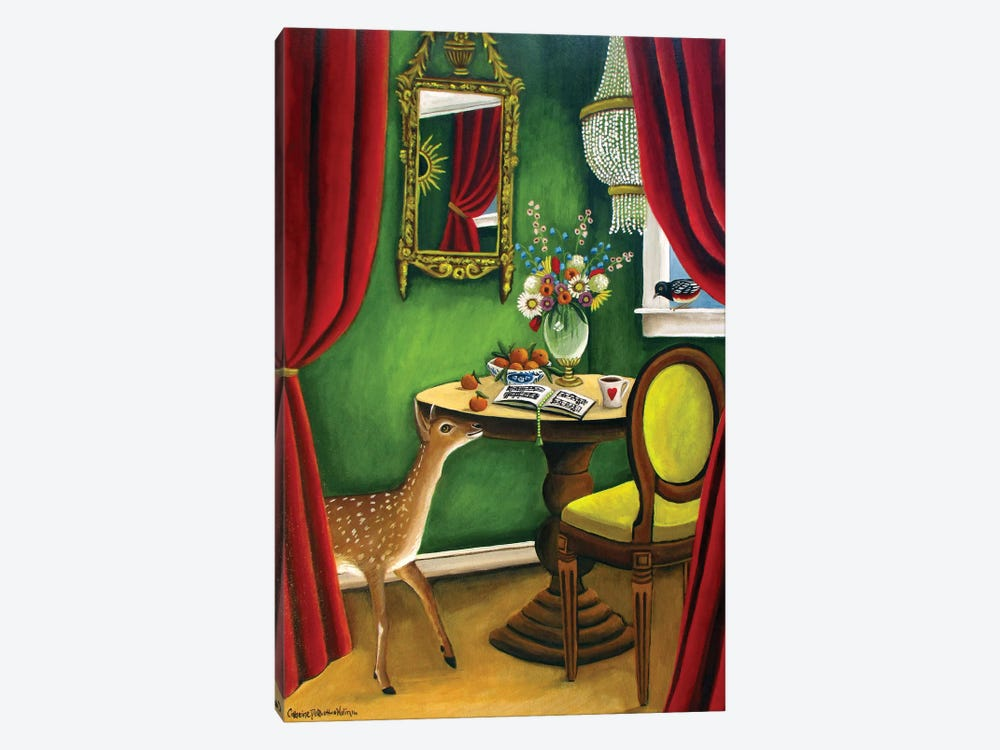 Deer by Catherine A. Nolin 1-piece Art Print