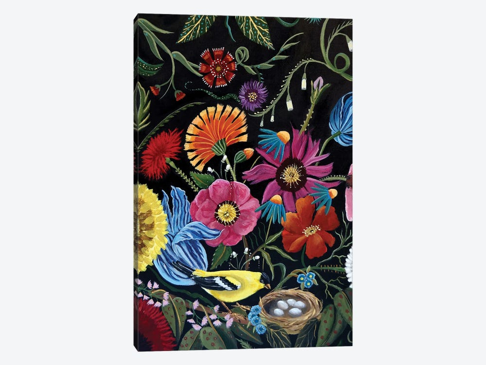 Finch by Catherine A Nolin 1-piece Canvas Artwork