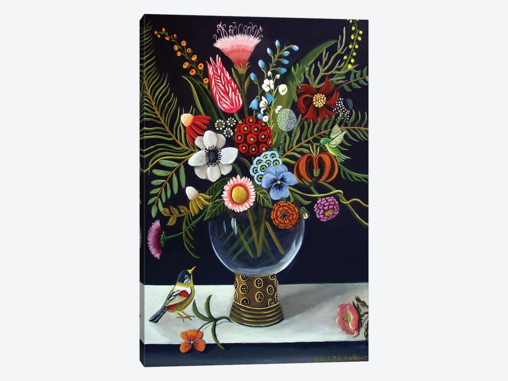 Floral Best by Catherine A Nolin 1-piece Canvas Print