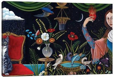 Katrina's World Canvas Art Print