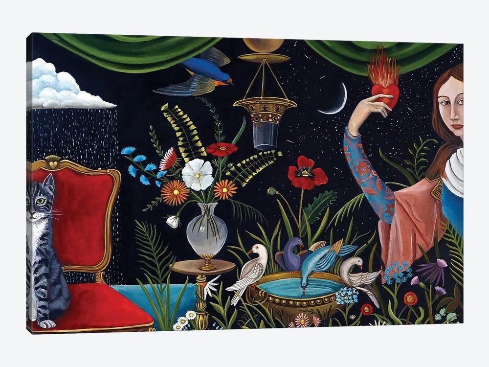 Katrina's World by Catherine A Nolin 1-piece Canvas Print
