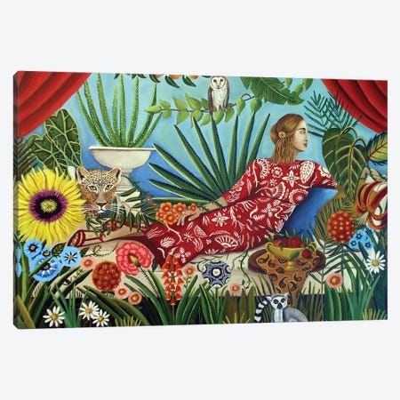 Off The Grid Canvas Print #CNO22} by Catherine A Nolin Art Print