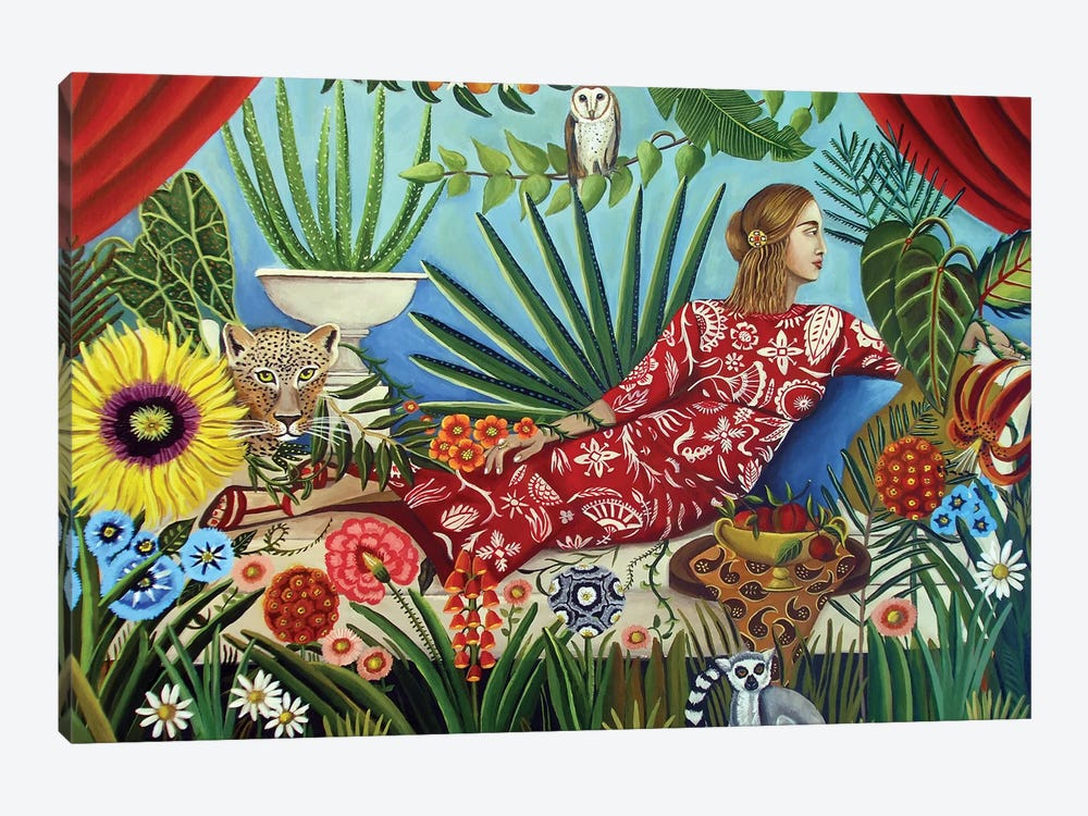 Off The Grid by Catherine A Nolin 1-piece Canvas Wall Art