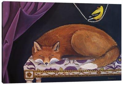 Silent Observation Canvas Art Print
