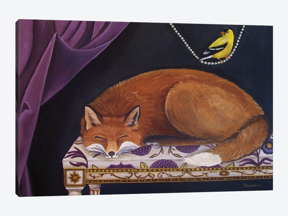 Silent Observation by Catherine A Nolin 1-piece Art Print
