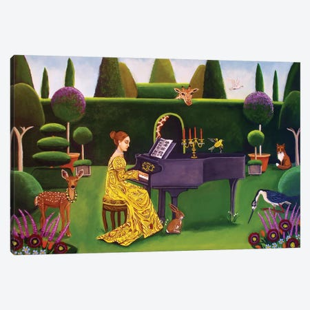 Summer Sonata 3-Piece Canvas #CNO26} by Catherine A Nolin Canvas Art