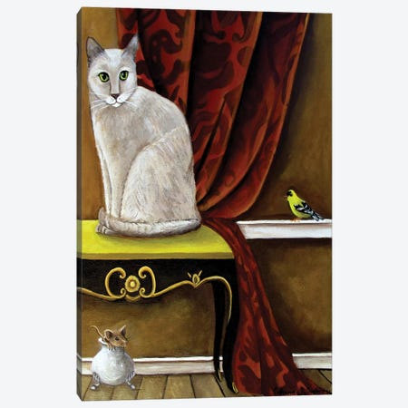 Three Amigos Canvas Print #CNO28} by Catherine A Nolin Canvas Print
