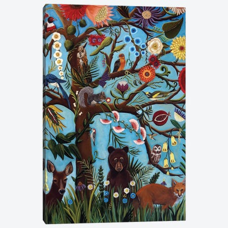 Tree Of Life Canvas Print #CNO29} by Catherine A Nolin Canvas Print