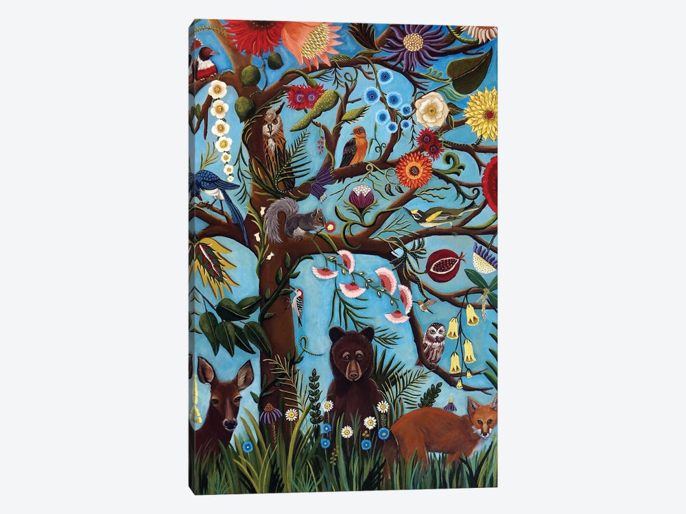 Tree Of Life by Catherine A Nolin 1-piece Canvas Art Print