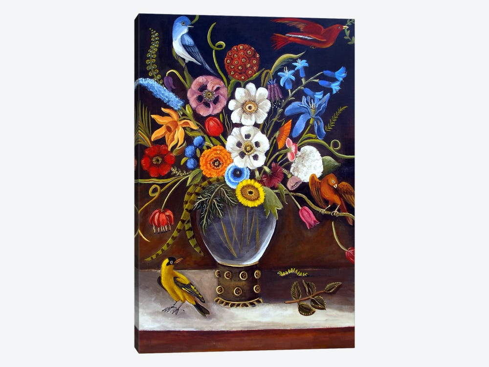 Be Still Life by Catherine A Nolin 1-piece Canvas Print
