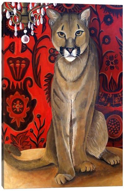 Best Cougar II Canvas Art Print