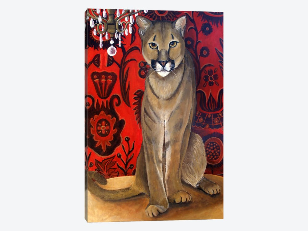 Best Cougar II by Catherine A Nolin 1-piece Canvas Artwork