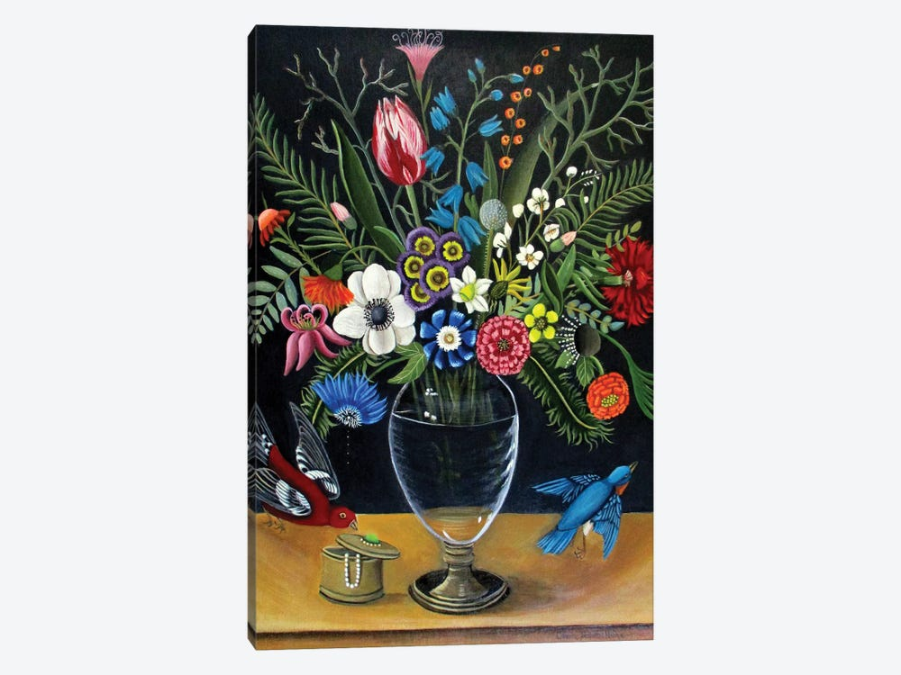 Best Vase by Catherine A. Nolin 1-piece Art Print
