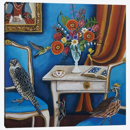 Bird House 3-Piece Canvas #CNO5} by Catherine A Nolin Canvas Art Print