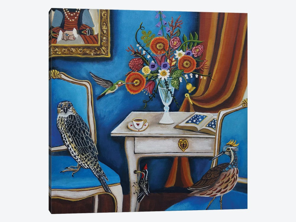 Bird House by Catherine A Nolin 1-piece Canvas Artwork