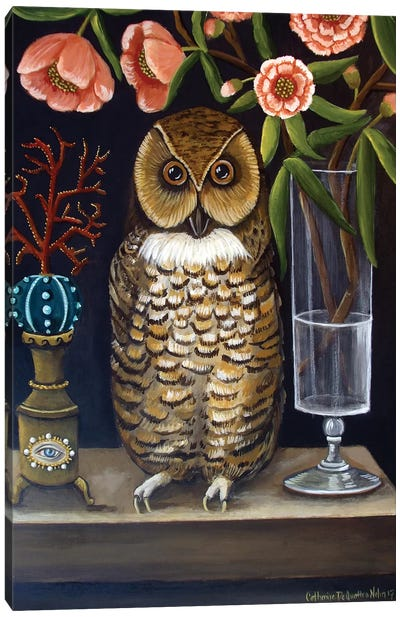 Curious And Wise Canvas Art Print